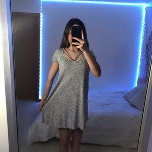 Hollister Cute Grey Dress